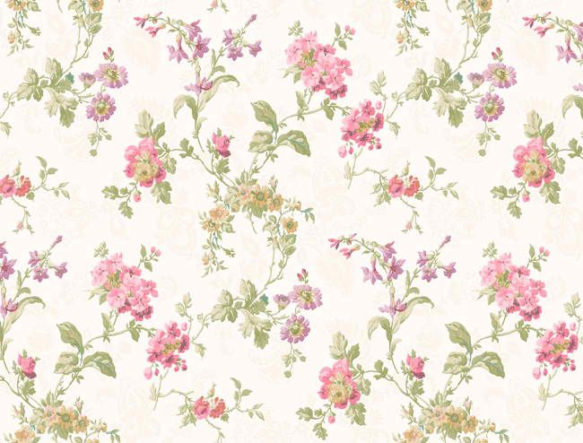 Pink And Green Floral Pattern | www.pixshark.com - Images ...