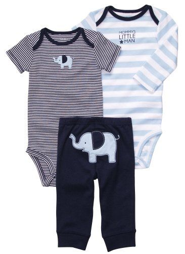 f4c8a1a7c Carter's Boys 3-piece Bodysuit Pants Set for only $10.99 | Baby ...