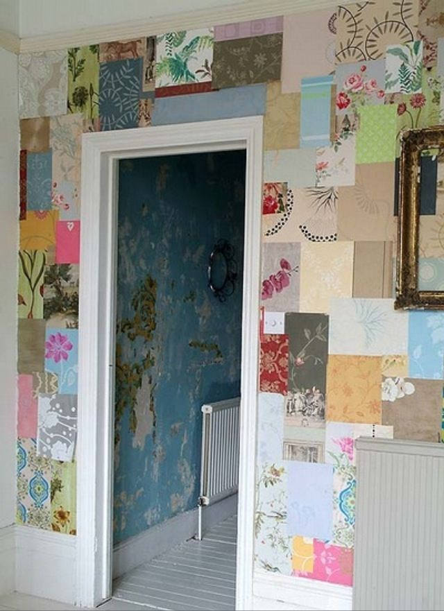 Omg this wall is awesome u gotta b really creative.. Good idea though
