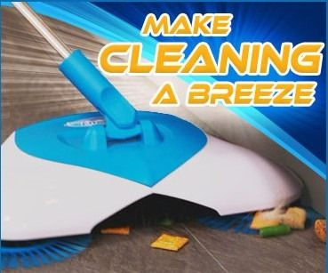 Hurricane Spin Broom Electric Broom Spinning See On Tv