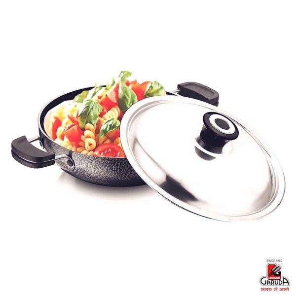 Prestige Stainless Steel Kadai Without Lid