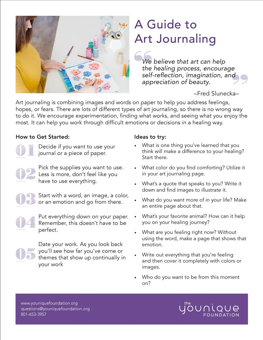 A Guide To Art Journaling