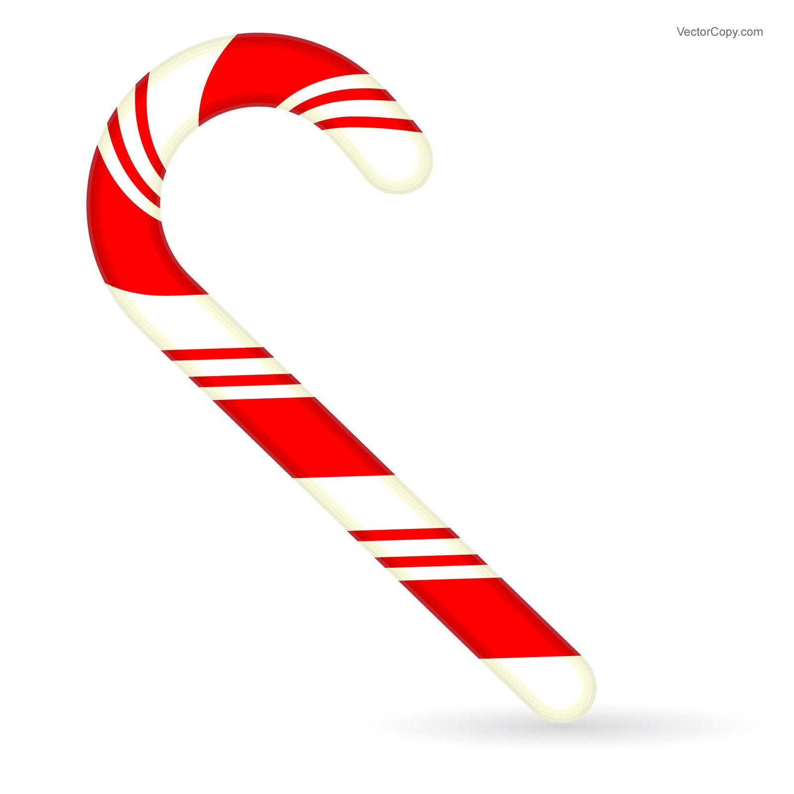 christmas candy cane free vector vector objects pinterest