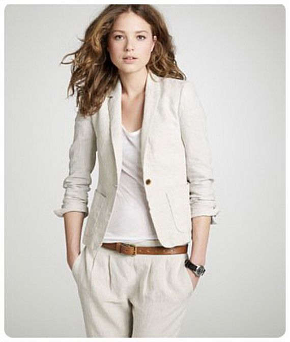 Linen Suits for Women | My Style | Pinterest | Linen suit and Linens