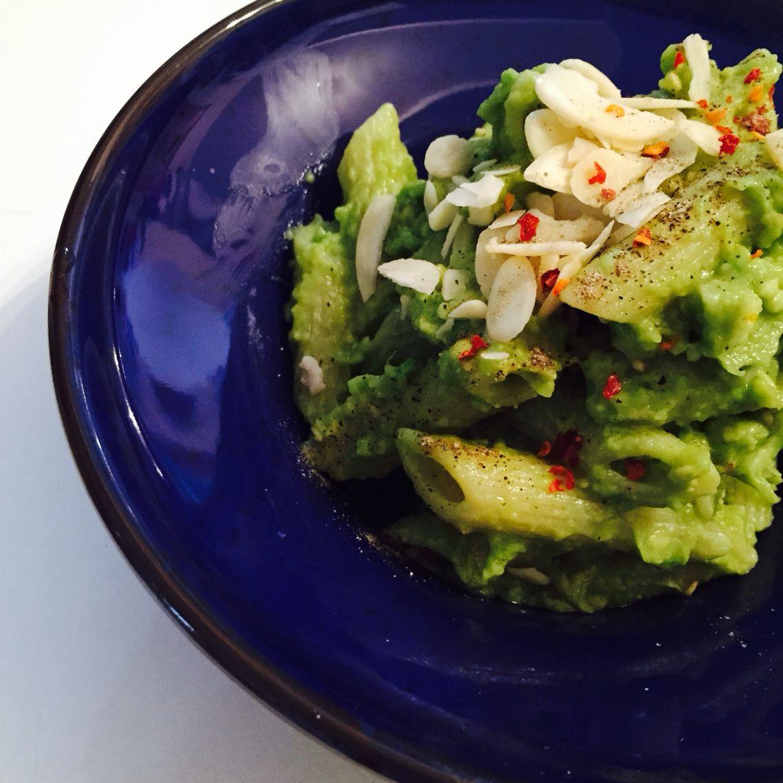 Another avocado dish! Pasta