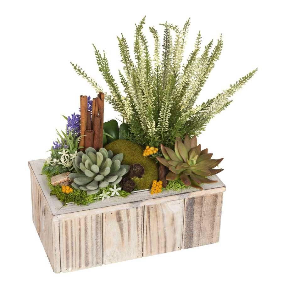 Arreglos florales artificiales online arreglo floral for Plantas ornamentales artificiales