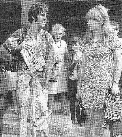 Paul With Jane Asher And Julian Lennon More