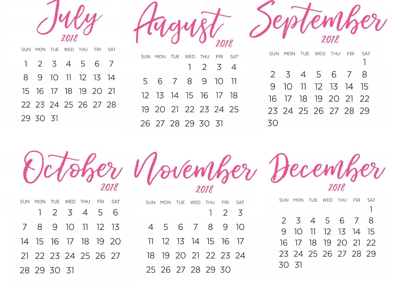 yearly calendar printable style 1 experience screenshoot one page