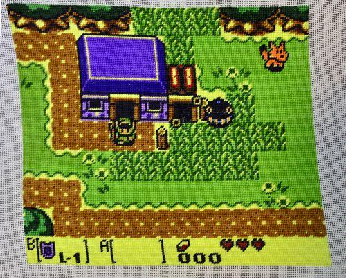 Zelda Link S Awakening Coloring Pages Indonesia Display