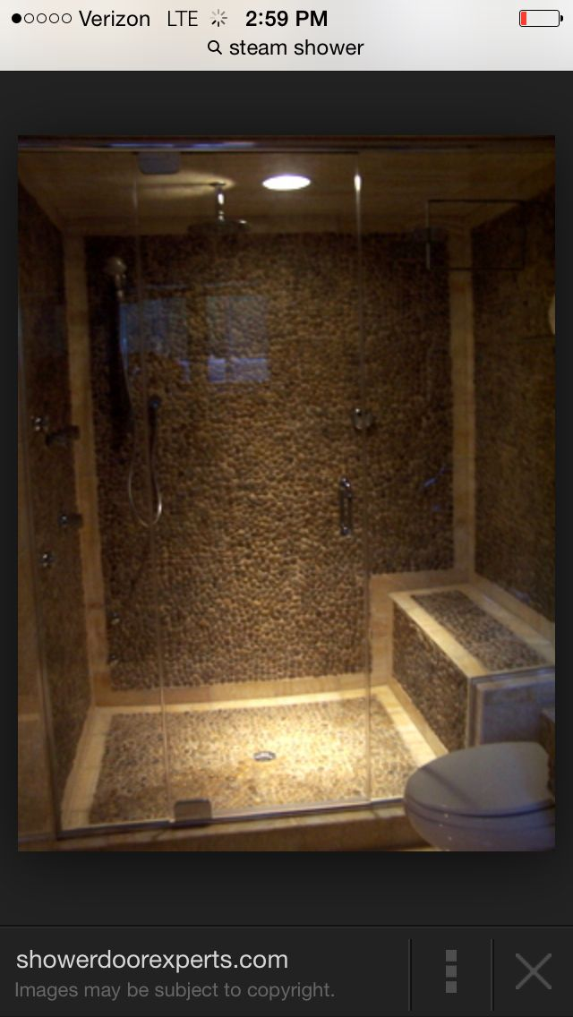 Pin by Richard Pries on Bathroom | Pinterest | Saunas, Showers and House
