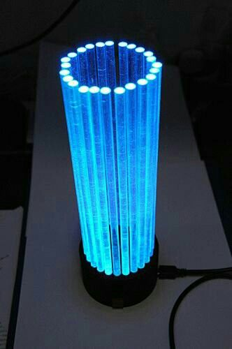 A Multicolor Led Lamp Led Lighting Diy Led Lamp Diy Led Diy