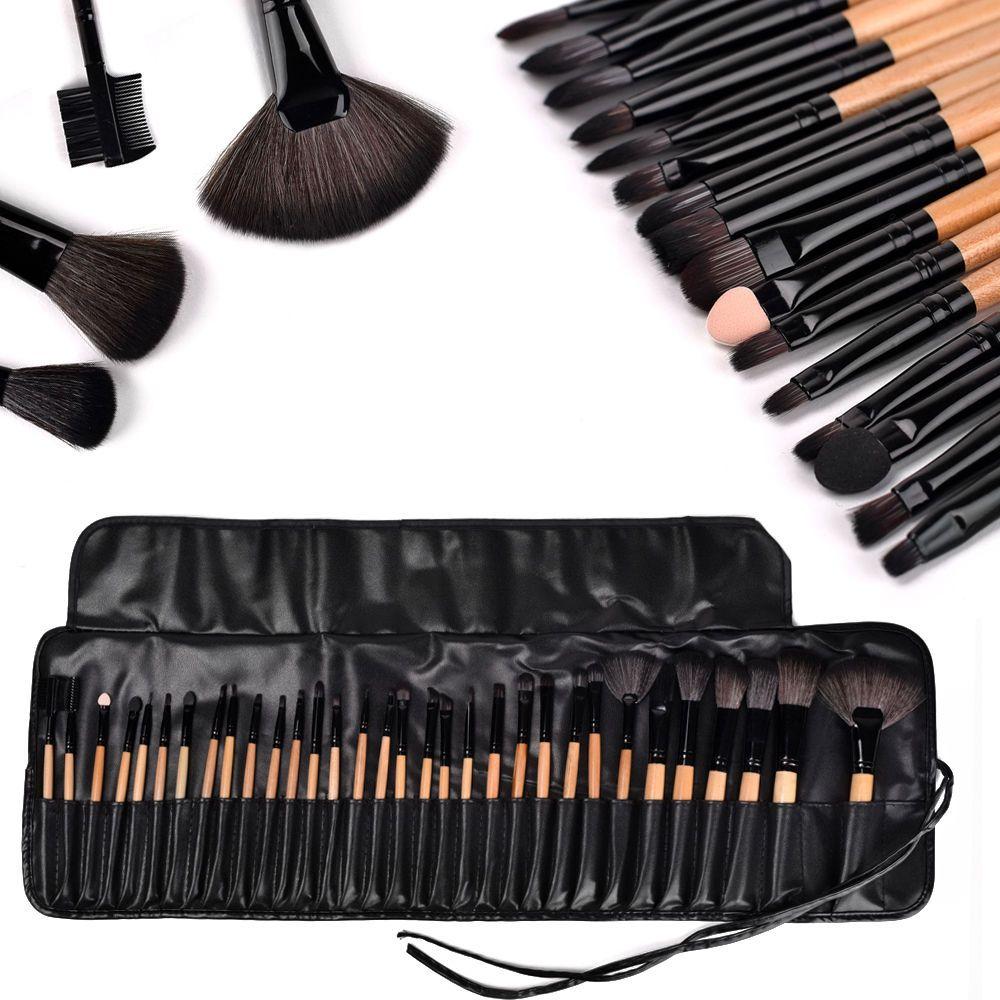 Vander 32tlg Profi Kosmetik PinselSet Make up Brush Kit
