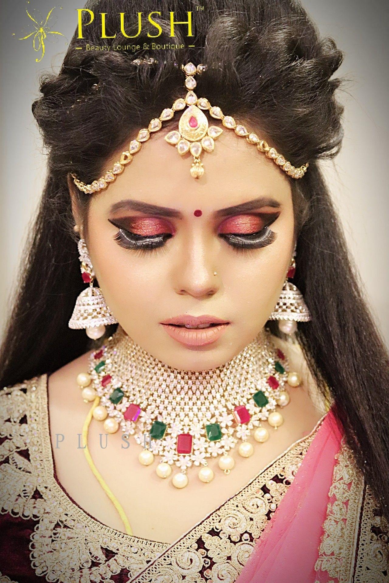 santhoshi's makeover..!! the plush bride - yoga priya