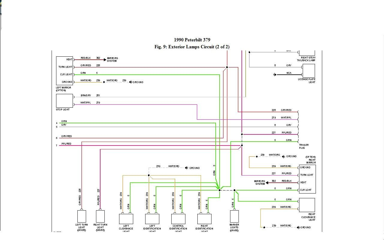 Awesome Peterbilt 379 Headlight Wiring Diagram | Peterbilt 379, Peterbilt, Peterbilt  387Pinterest
