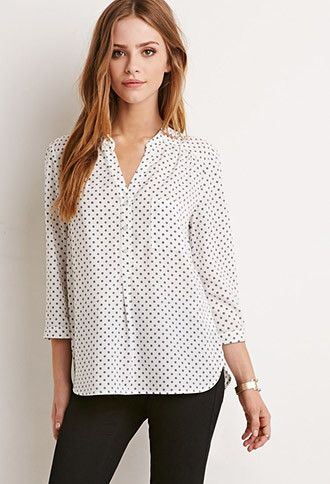 2139d7f6bf4bb4 Diamond-Patterned Shirt | Forever 21 - 2000184644 | Things to Wear ...