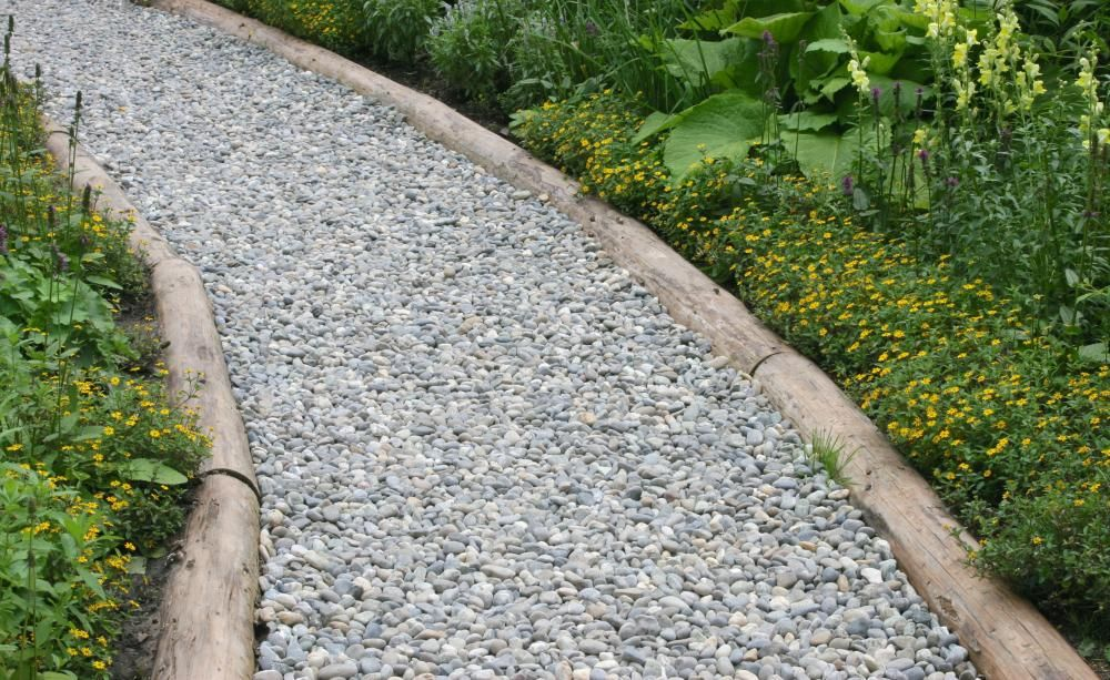 Gartenwege Planungs Und Materialtipps Gartenweg Kiesweg Kleiner Garten