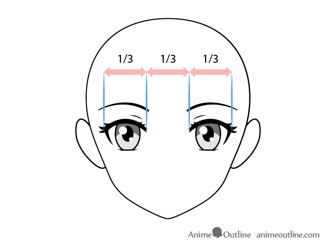 How To Draw Female Anime Eyes Tutorial Animeoutline Female Anime Eyes Anime Eyes Female Anime