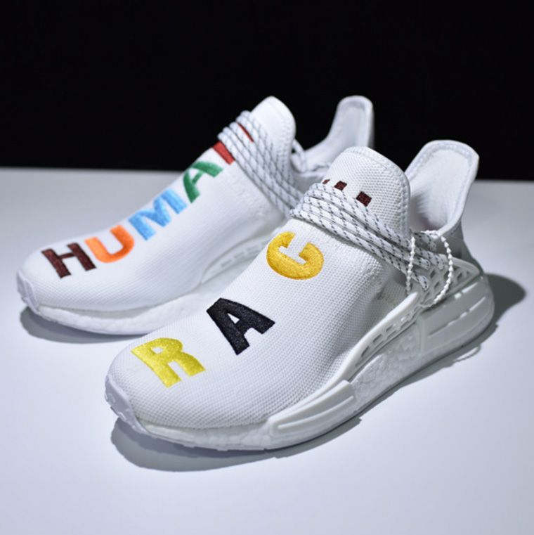 separation shoes 7ed17 d855d NMD Human race Blue 3M Pharrell | Shoes | Fashion, Fashion ...