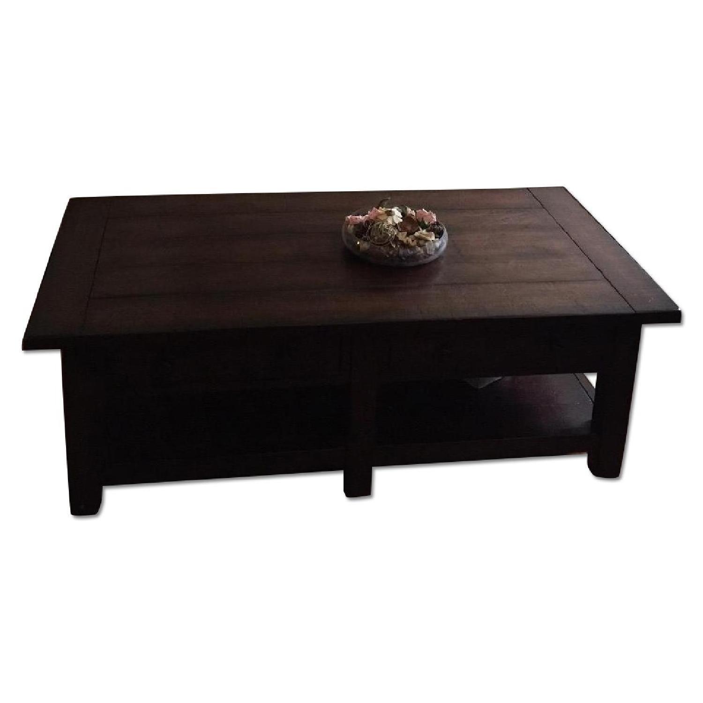 Pottery Barn Wooden Coffee Table Aptdeco Wooden Coffee Table Coffee Table Pottery Barn [ 1500 x 1500 Pixel ]