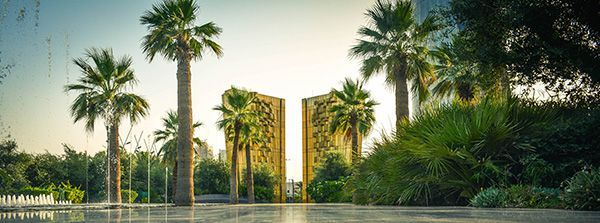 Constitution Garden sculpture and fountain. Photo Credit: Mohamed Abd El-Maguid©