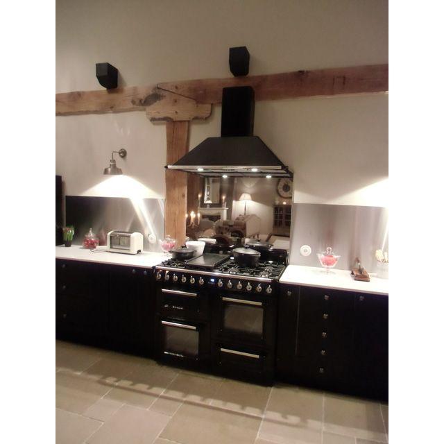 acheter en ligne 64186 067f2 Crédence inox miroir 90 x 70 cm - CASTORAMA | home ...