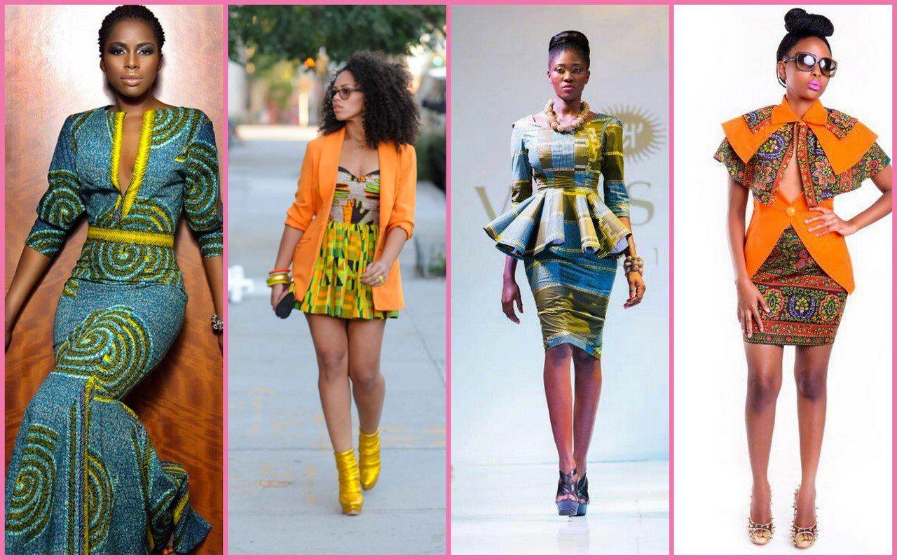 Ghanaian Kente Kaba And Slit Styles Ghanaian Kente Kaba