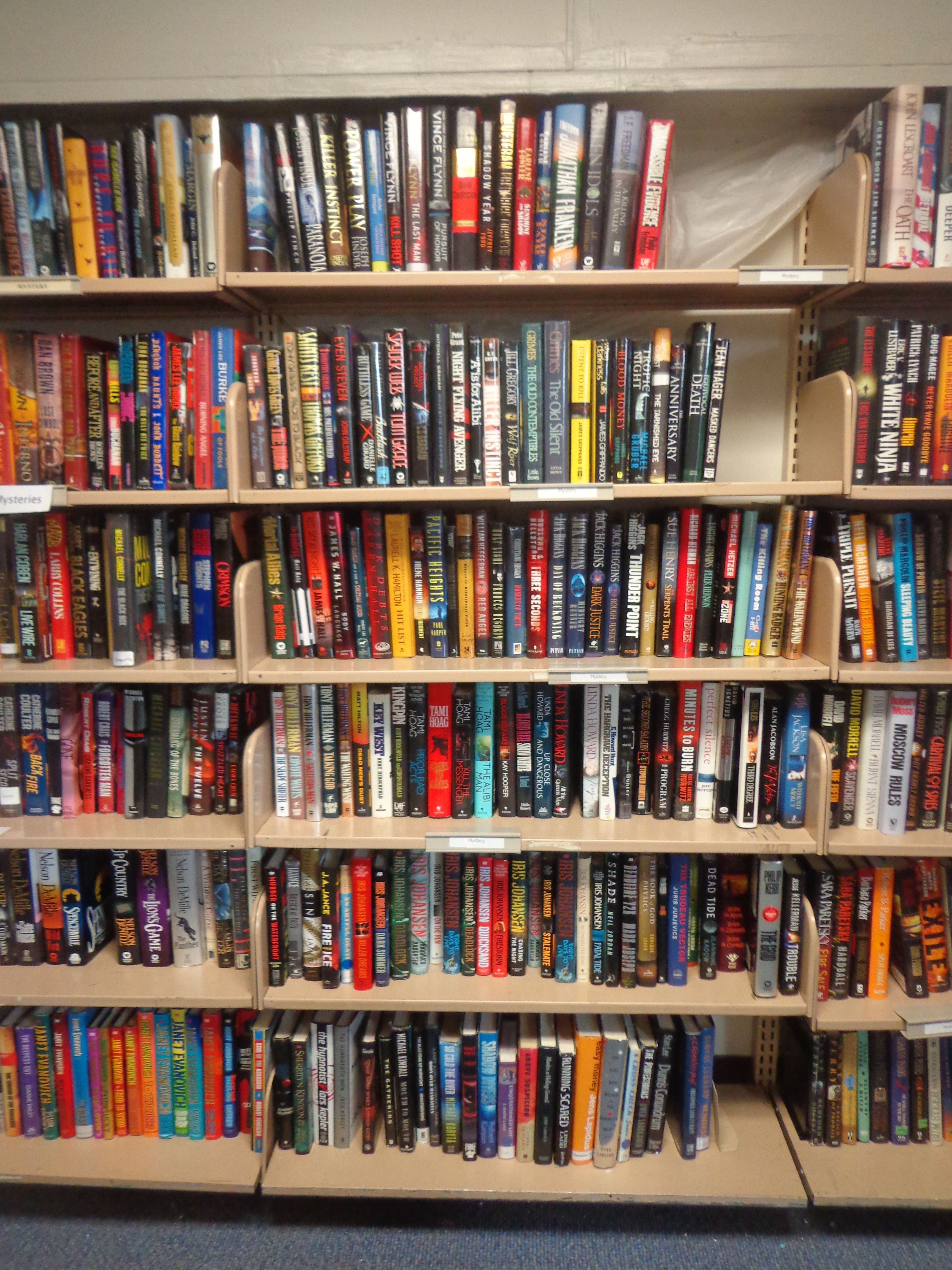 More Lots Of Mystery Suspense Hardcover Novels With Alphabetical Order Of Last Name S Authors Public Library Library Library Services