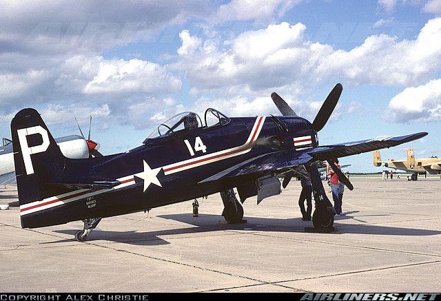 Grumman F8F-1D Bearcat (G-58) aircraft picture