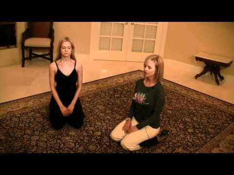 video stepstep yoga relaxation breathing techniques