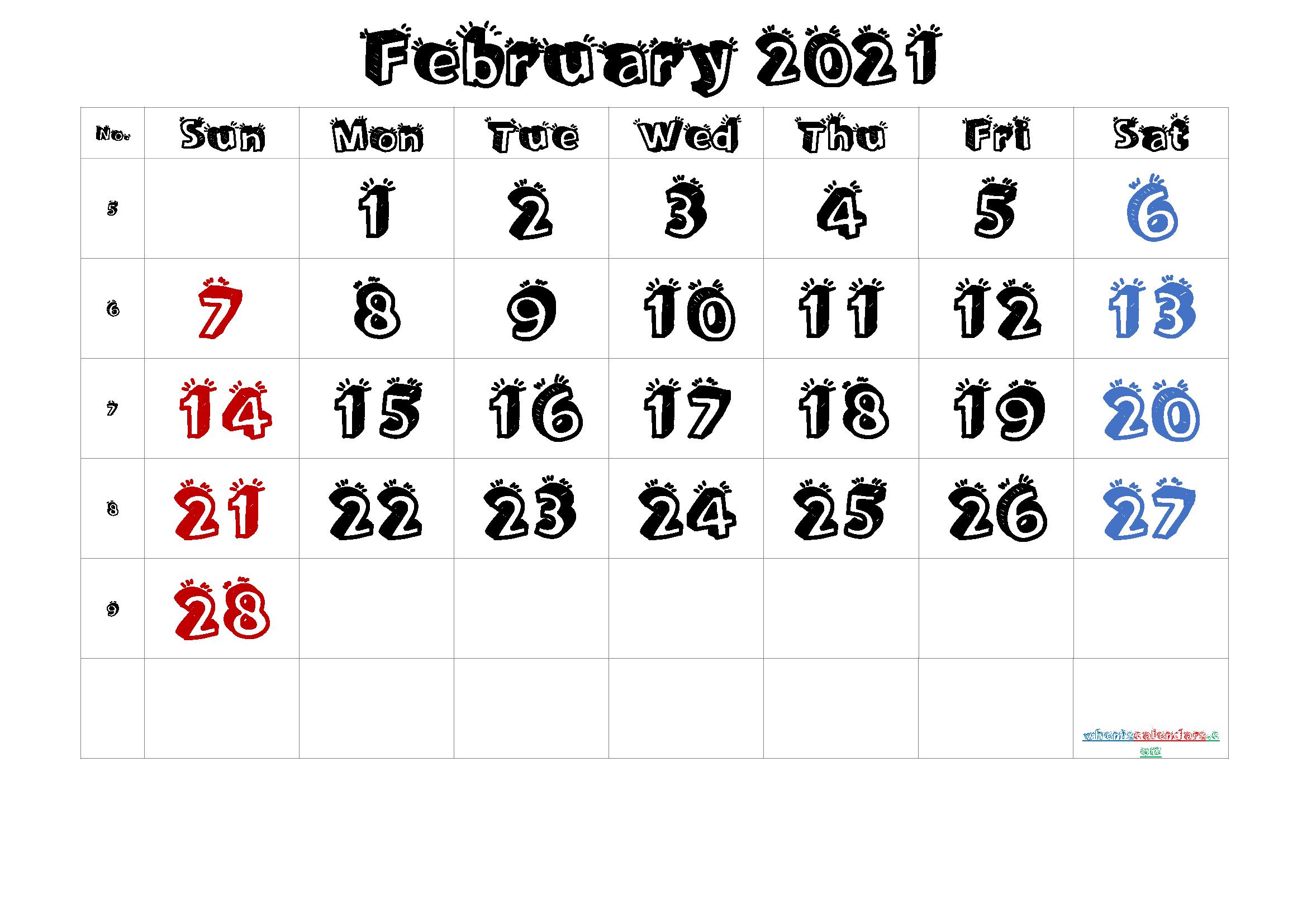 Blank Calendar December 2022 Printable.Free Printable Calendar 2021 February Free Premium Printable Calendar Template Printable Calendar Monthly Calendar Printable