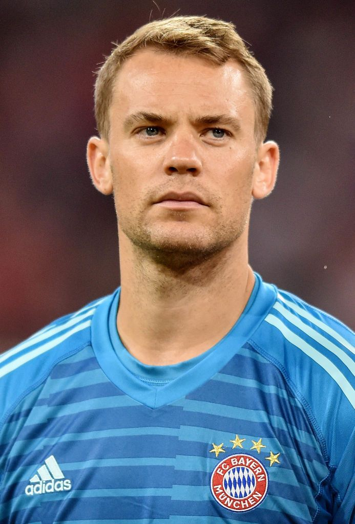 MUNICH, GERMANY - AUGUST 24: Manuel Neuer of Bayern Muenchen during the Bundesliga match between FC Bayern Muenchen and TSG 1899 Hoffenheim at Allianz Arena on August 24, 2018 in Munich, Germany. (Photo by Lukasz Laskowski/PressFocus/MB Media/Getty Images)
