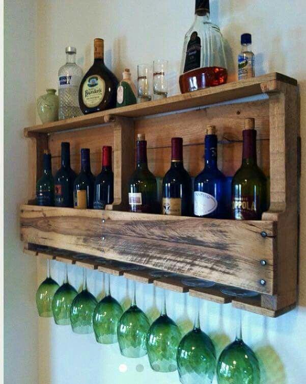 New Liquor Bottle Rack Bar