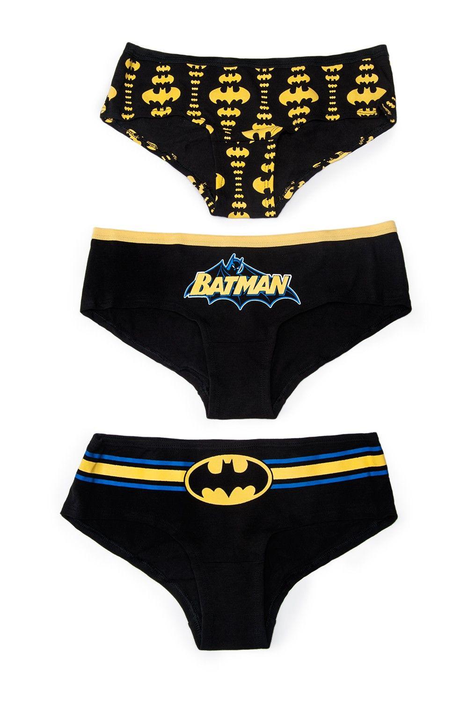 d999b8dcd Batman Glow in the Dark 3 Pack Panty Set