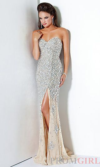 Silver Sequin Evening Gown by Jovani 4247 | Maids, By and Maid of ...