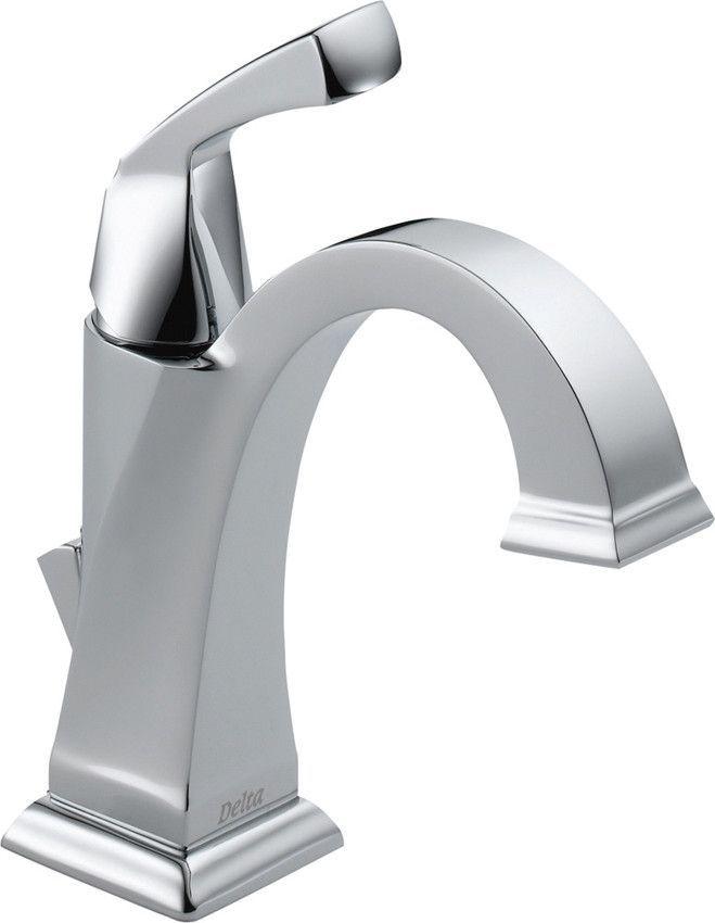 Dryden Single Hole Bathroom Faucet with Diamond Seal Technology