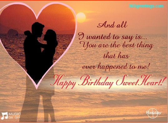 Birthday Wishes for Girlfriend – Birthday Love Greetings