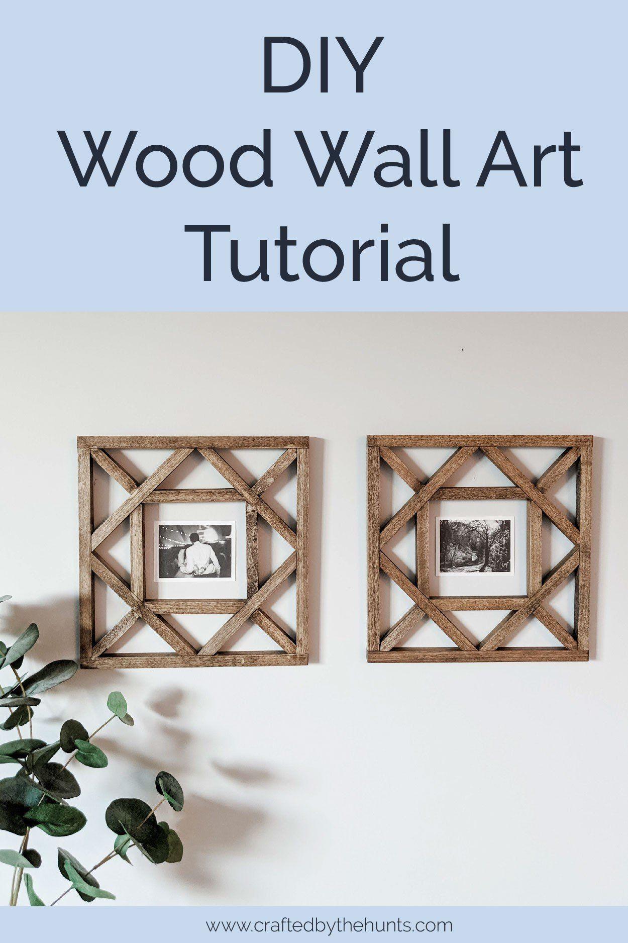 Photo of DIY Wood Wall Decor