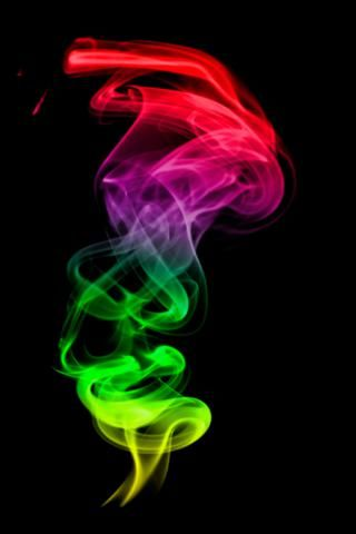 Colorful smokes abstract iphone wallpaper smartphone for Abstract smartphone wallpaper