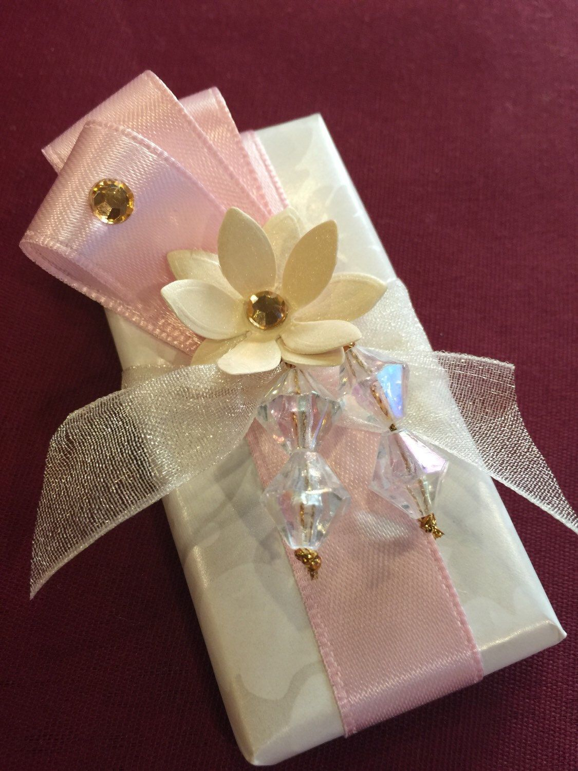 6 Edible wrapped presents  Decorations Christening Birthday