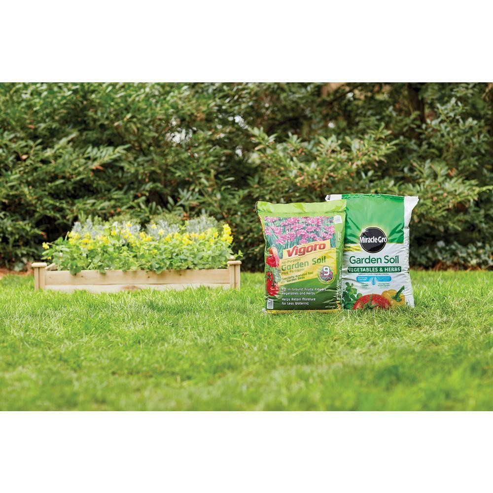 Vigoro 1 Cu Ft Garden Soil 50150147 The Home Depot With