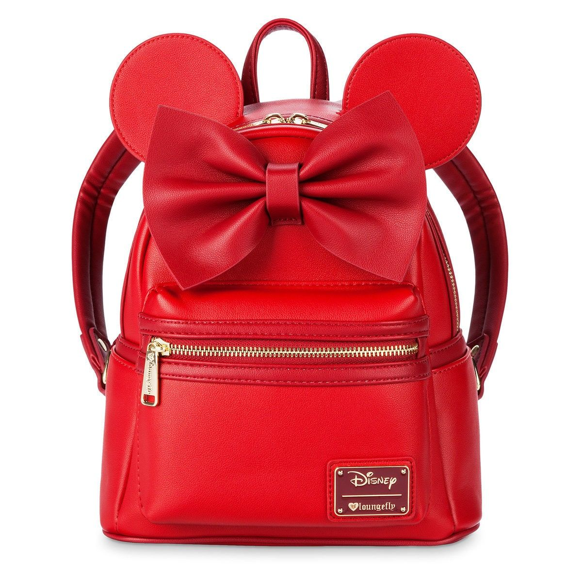 27de68a292 Thumbnail Image of Minnie Mouse Mini Backpack by Loungefly - Red   1