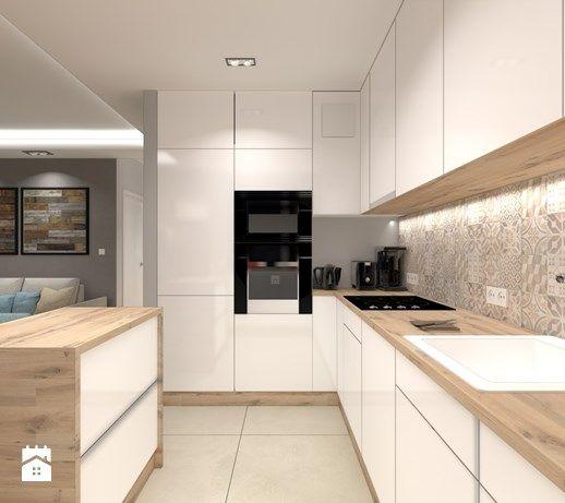 Aranzacje Wnetrz Kuchnia Mieszkanie W Gdansku Kuchnia Styl Nowoczesny Architekt Wnetrz Tomasz Kitchen Inspiration Design Modern Kitchen Kitchen Design