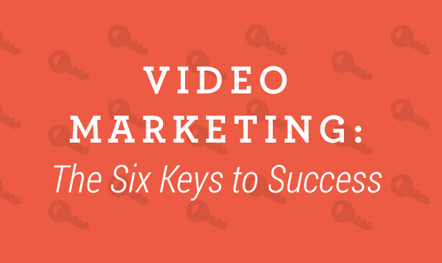Don't let your wedding business fall behind! Use this infographic to learn the six keys to video marketing success.