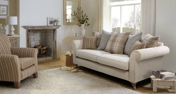 Morland Plain 4 Seater Pillow Back Sofa Dfs In 2019