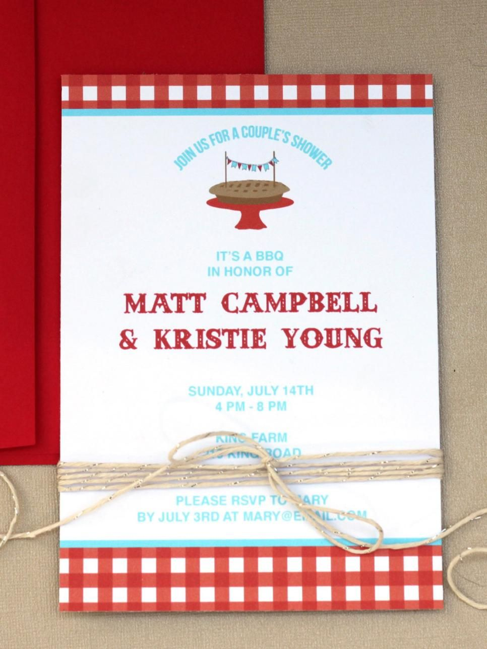 Free Printable Wedding Shower Invitations | Free printable wedding ...