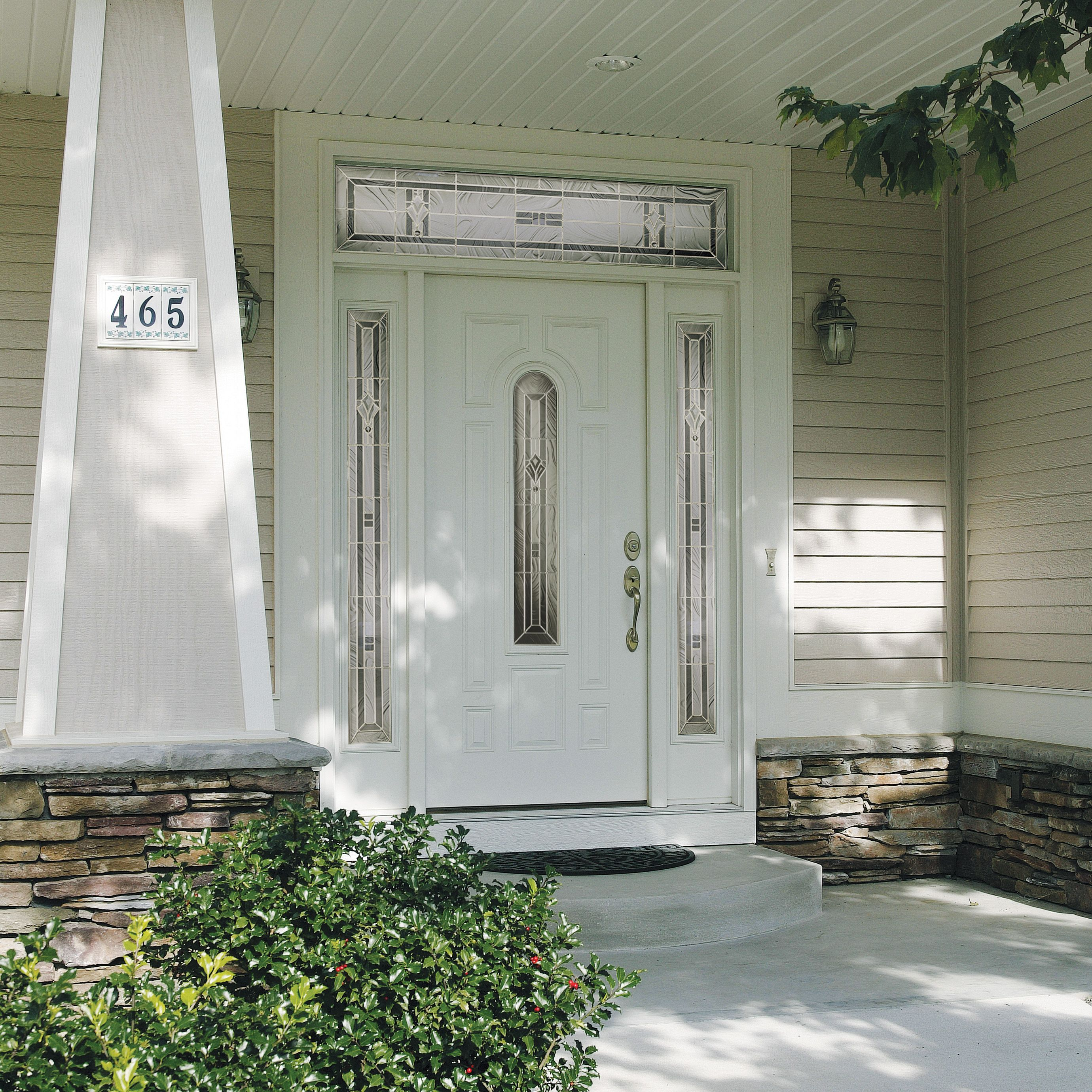 Jeld wen smooth pro fiberglass exterior door matching - Jeld wen exterior doors with sidelights ...
