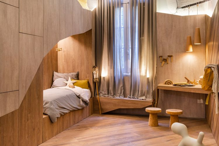 Die Bärenhöhle Ein Kreativ Gestaltetes Kinderzimmer Mit Hochbett