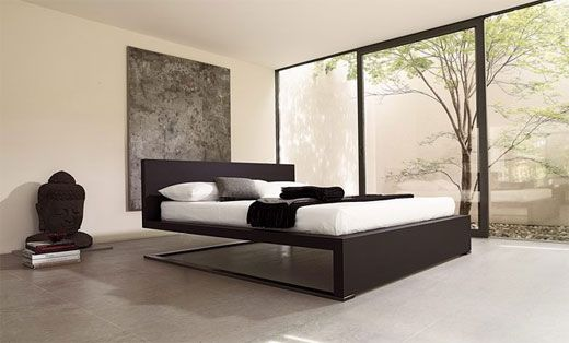 elegant beds design for modern minimalist bedroom decoration. http