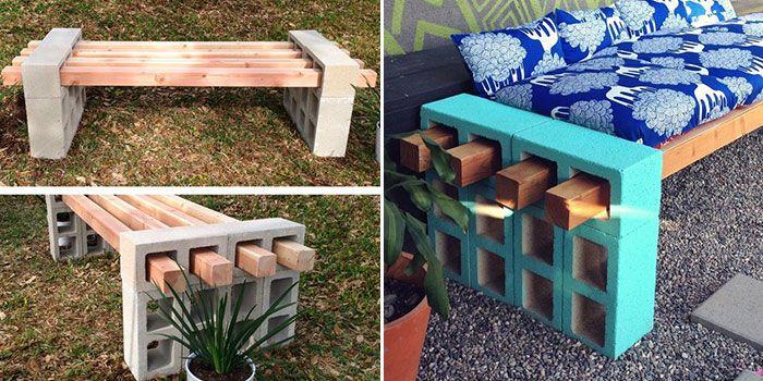 003 E 011 Jc Chic E Reutilizar Blocos De Concreto No Jardim Com