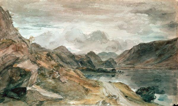 Image John Constable The Lake District Landscape Paintings Watercolour Inspiration Lake District